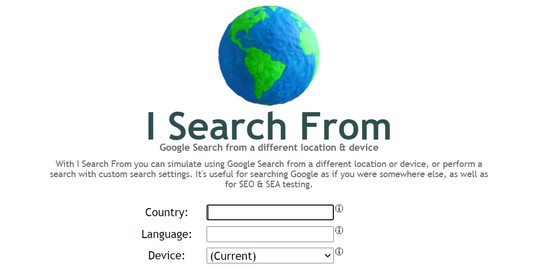 MEO対策ツール【無料】I search from