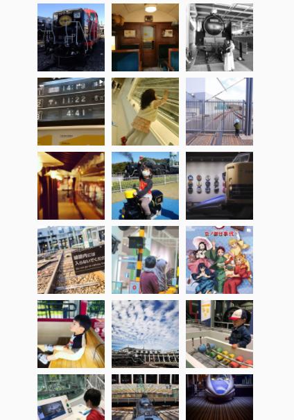 京都鉄道博物館のInstagram活用事例2